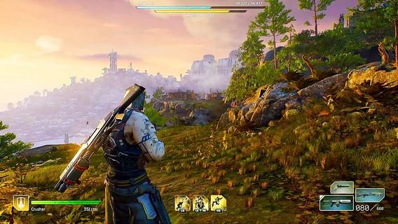 Outriders первые кадры из игры