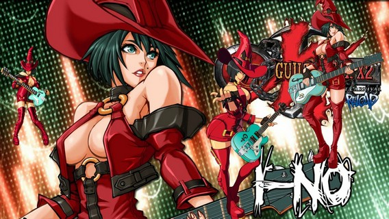 GUILTY GEAR STRIVE персонаж i-no