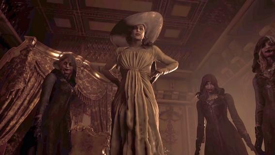 Resident Evil Village Леди Димитреску